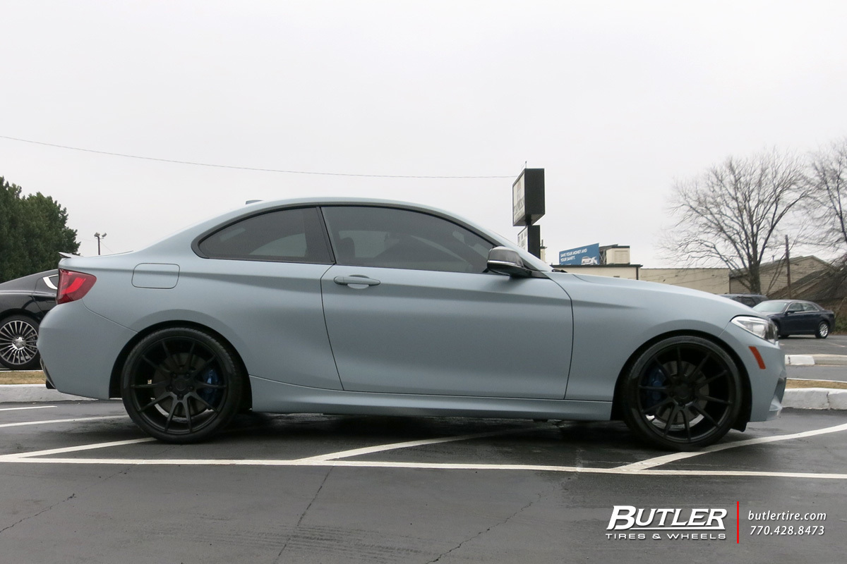 BMW 2 Series with 19in Savini BM12 Wheels