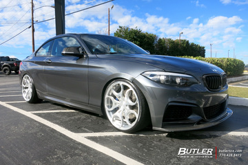 BMW 2 Series with 20in Avant Garde AGL46 Wheels