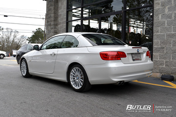 BMW 3 Series with 17in Beyern Aviatic Wheels
