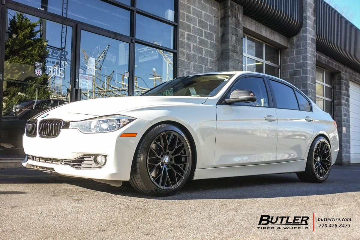 BMW 3 Series with 18in Beyern Antler Wheels exclusively from Butler Tires and Wheels in Atlanta ...