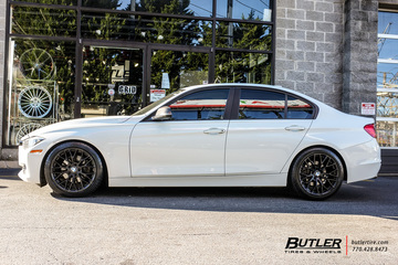 BMW 3 Series with 18in Beyern Antler Wheels