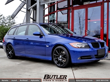BMW 3 Series with 18in Beyern Bavaria Wheels