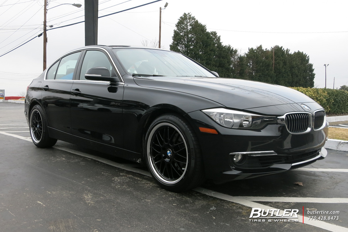 BMW 3 Series with 18in Beyern Mesh Wheels