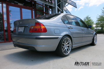 BMW 3 Series with 18in Beyern Spartan Wheels