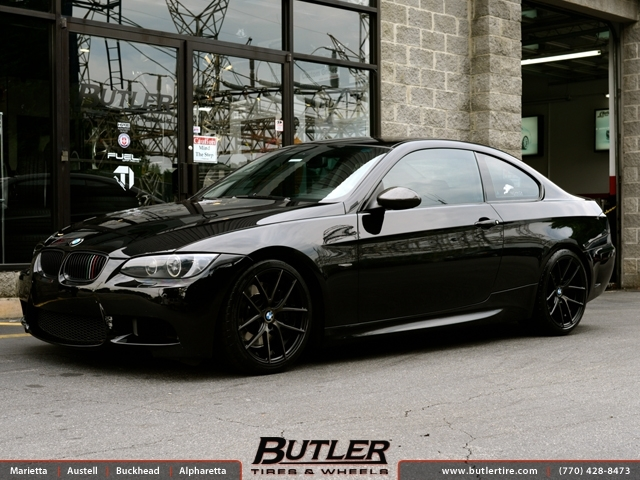 BMW 3 Series with 18in Niche Targa Wheels