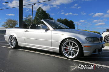 BMW 3 Series with 18in TSW Bathurst Wheels