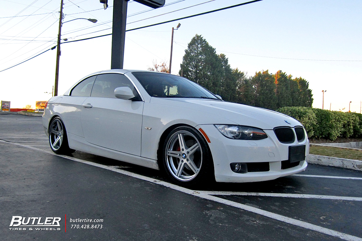 BMW 3 Series with 18in TSW Mirabeau Wheels
