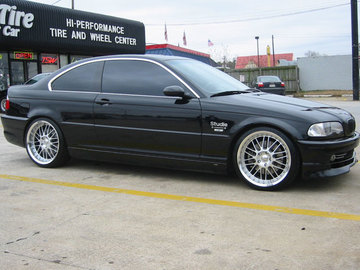 BMW 3 Series with 19in Axis Supermesh Wheels