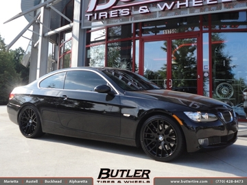 BMW 3 Series with 19in Beyern Spartan Wheels