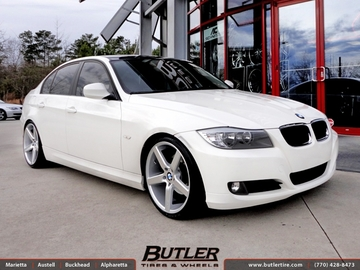 BMW 3 Series with 19in Niche Milan Wheels
