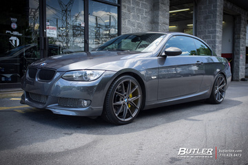 BMW 3 Series with 19in Niche Misano Wheels