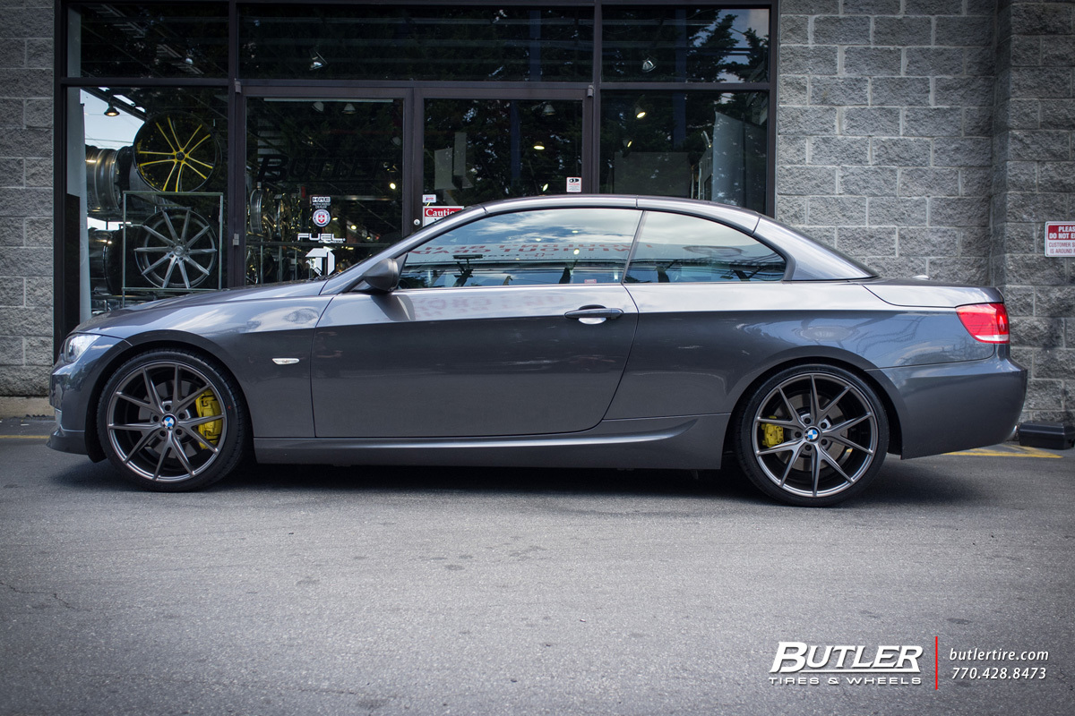 Bmw 3 Series With 19in Niche Misano Wheels Exclusively From Butler 335 Wiring Diagram