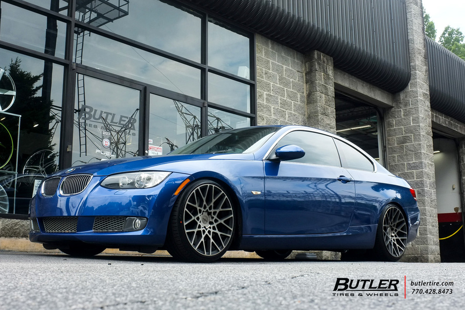 World Car Mazda >> BMW 3 Series with 19in Rotiform BLQ Wheels exclusively ...