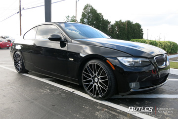 BMW 3 Series with 19in Savini BM13 Wheels