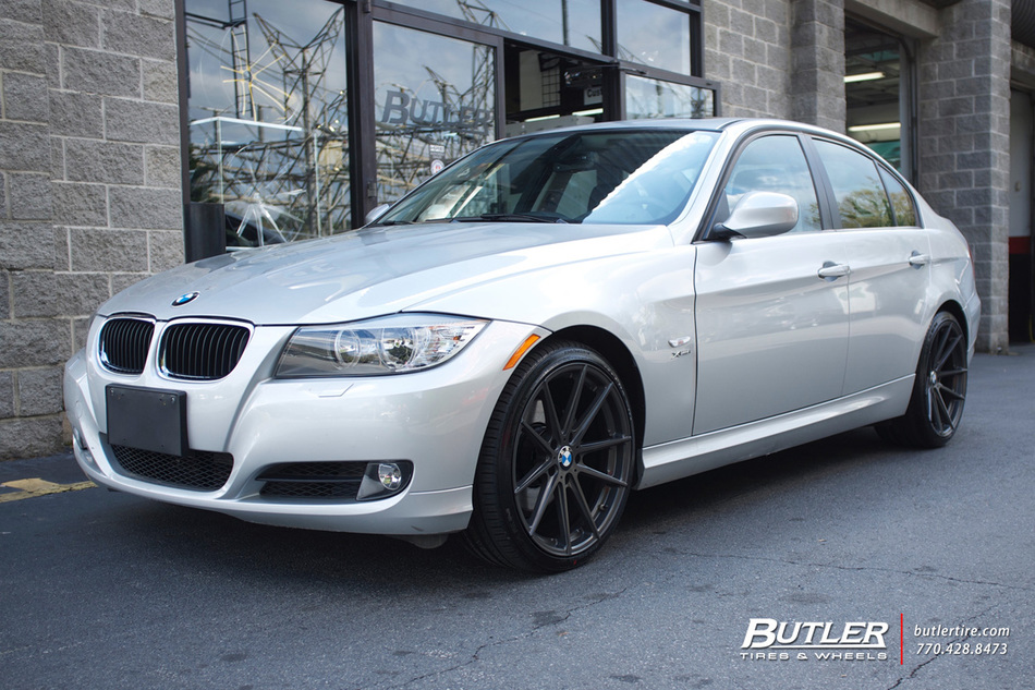 BMW 3 Series with 19in TSW Bathurst Wheels exclusively ...