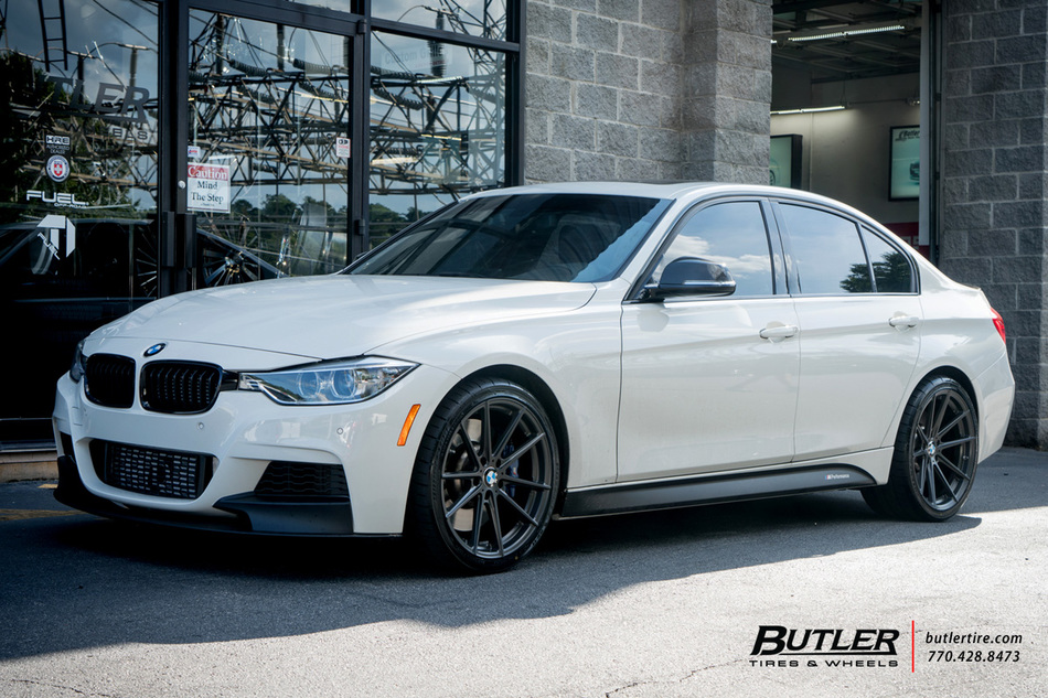 BMW 3 Series with 19in TSW Bathurst Wheels exclusively from Butler Tires and Wheels in Atlanta ...