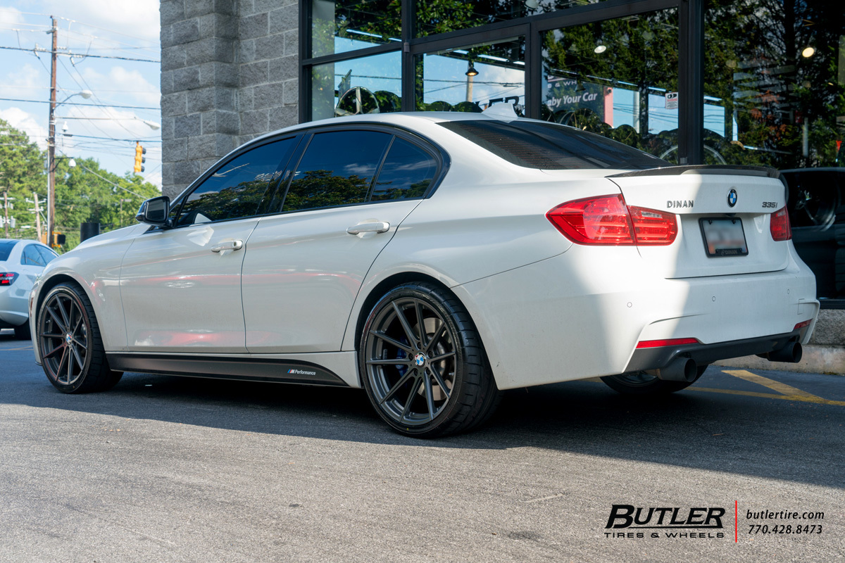 BMW 3 Series with 19in TSW Bathurst Wheels
