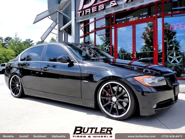 BMW 3 Series with 19in TSW Jerez Wheels