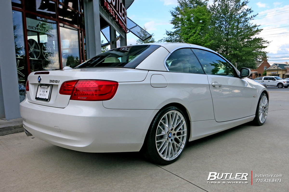 BMW 3 Series with 19in TSW Max Wheels