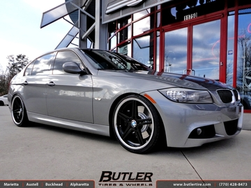 BMW 3 Series with 19in TSW Mirabeau Wheels