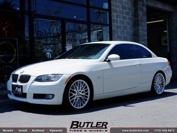BMW 3 Series with 19in TSW Parabolica Wheels