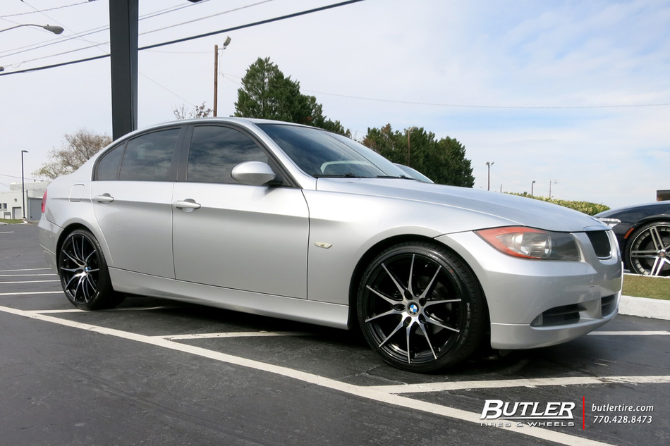 BMW 3 Series with 19in TSW Sprint Wheels exclusively from Butler Tires and Wheels in Atlanta, GA ...