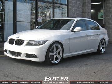 BMW 3 Series with 19in TSW Tanaka Wheels