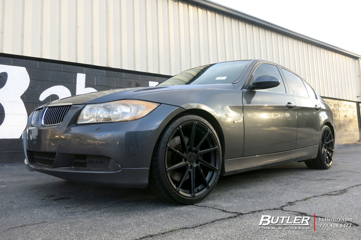 BMW 3 Series with 19in TSW Watkins Wheels