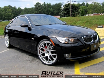 BMW 3 Series with 20in Avant Garde Ruger Mesh Wheels