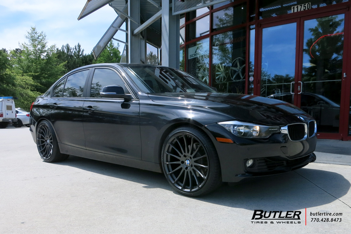 Bmw 3 Series With 20in Beyern Aviatic Wheels Exclusively