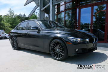 BMW 3 Series with 20in Beyern Aviatic Wheels