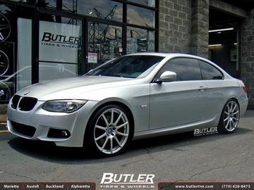 BMW 3 Series with 20in Beyern Bavaria Wheels