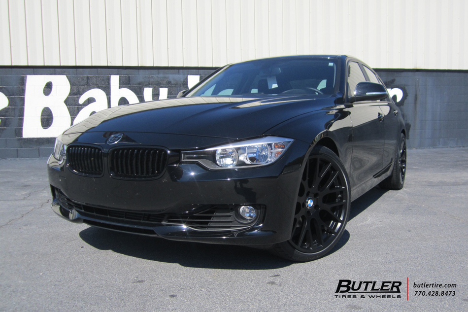 bmw 3 series with 20in beyern spartan wheels exclusively. Black Bedroom Furniture Sets. Home Design Ideas