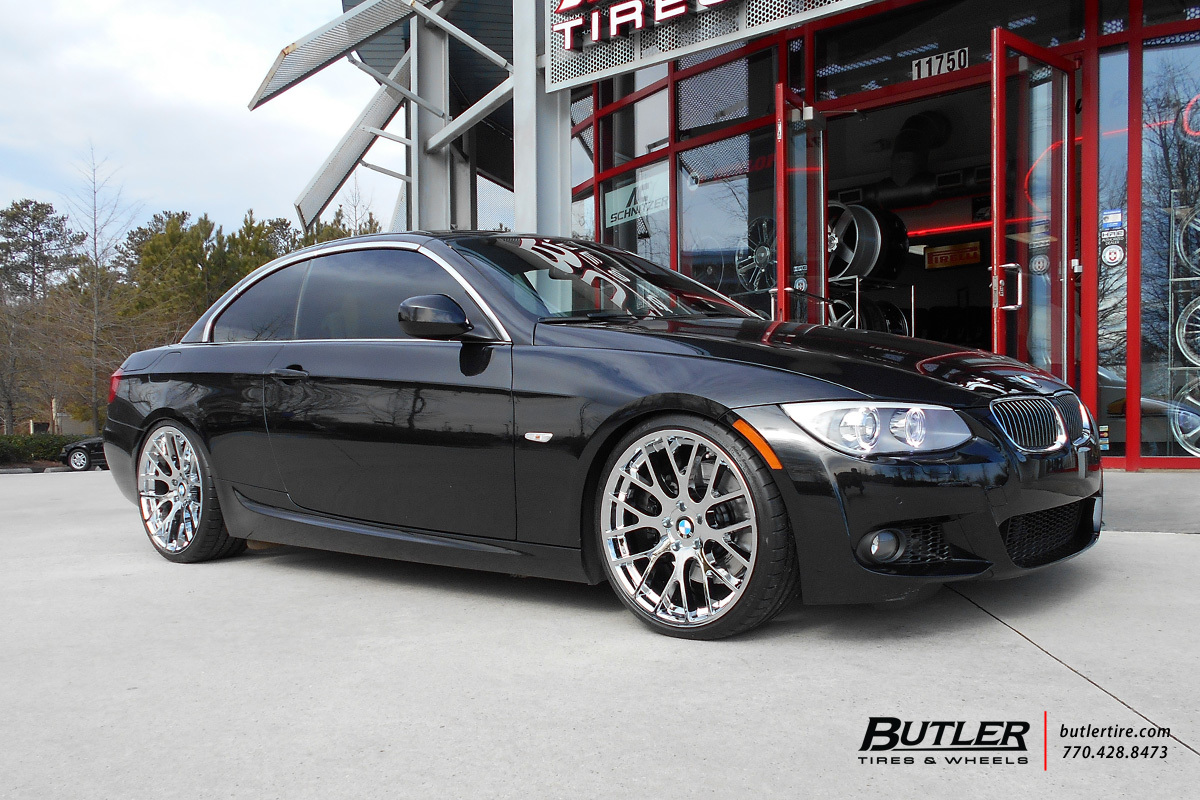 Bmw 3 Series With 20in Beyern Spartan Wheels Exclusively From Butler Tires And Wheels In Atlanta