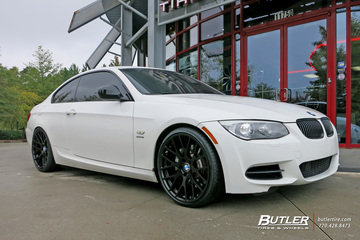 BMW 3 Series with 20in Beyern Spartan Wheels