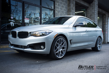 BMW 3 Series with 20in HRE FF01 Wheels