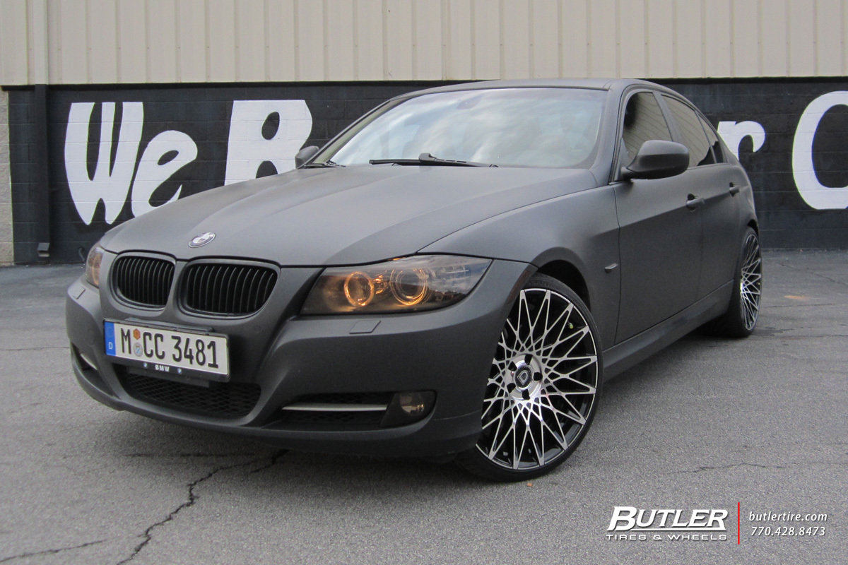 BMW 3 Series with 20in Lexani CSS16 Wheels