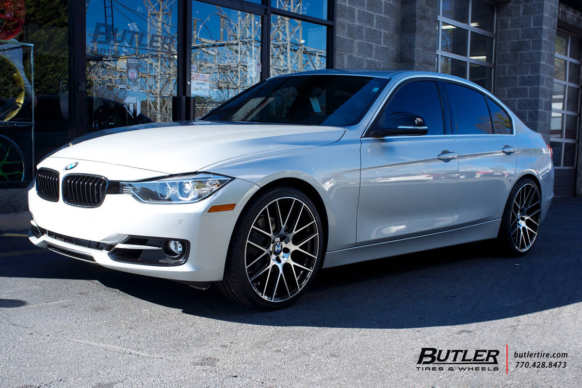 BMW 3 Series with 20in Lexani CSS8 Wheels