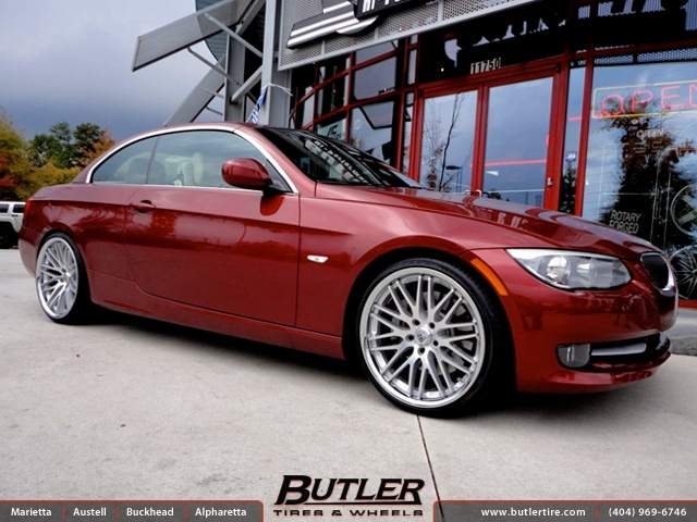 BMW 3 Series with 20in Lexani CVX 44 Wheels
