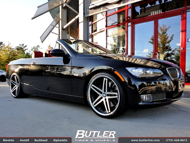 BMW 3 Series with 20in Lexani R-Five Wheels
