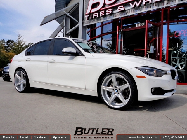 BMW 3 Series with 20in Niche Apex Wheels
