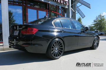 BMW 3 Series with 20in Niche Form Wheels