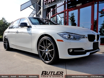 BMW 3 Series with 20in Niche Targa Wheels