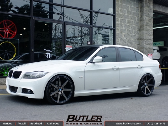 Bmw 3 Series With 20in Niche Verona Wheels Exclusively