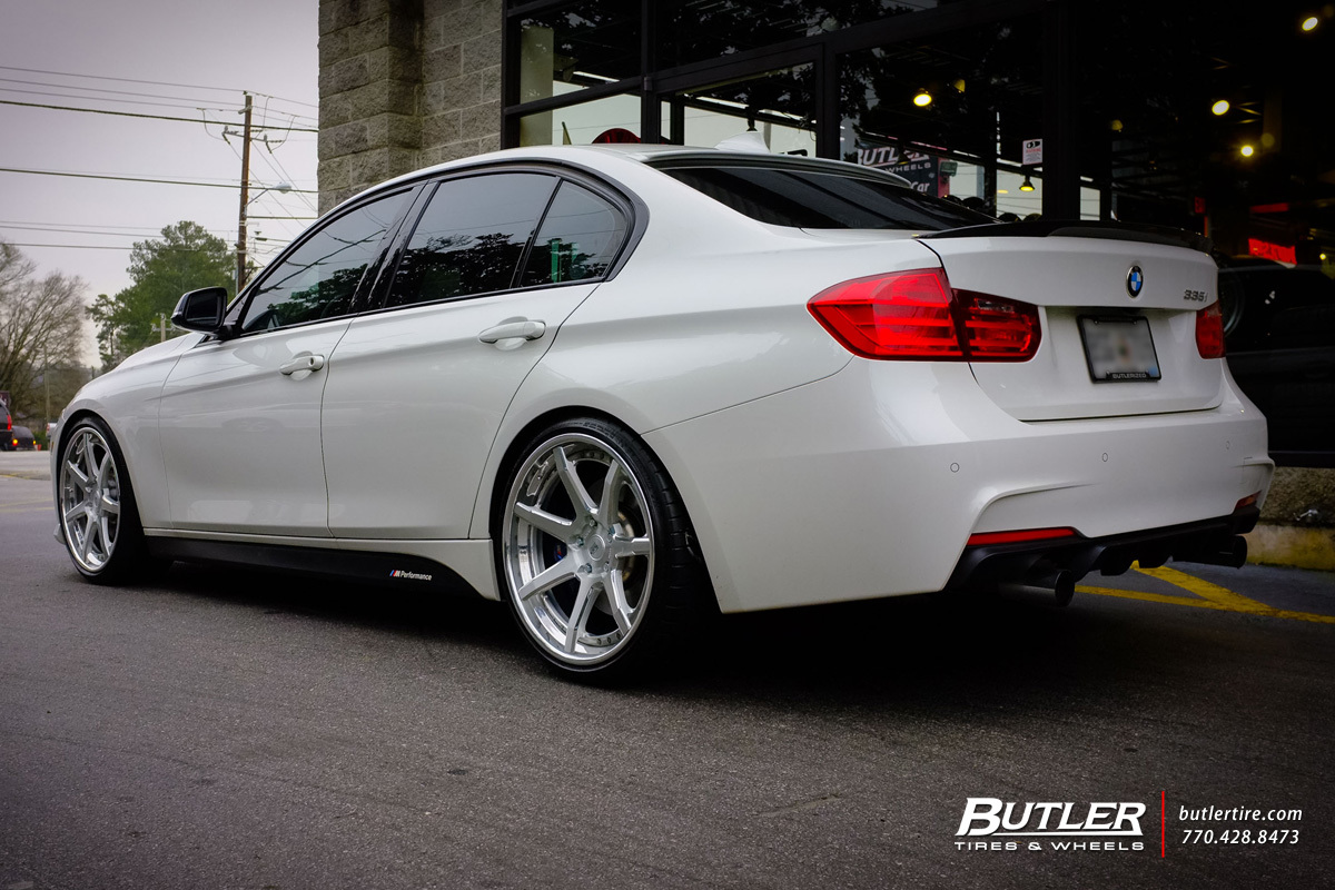 BMW 3 Series with 20in Savini BM10-L Wheels