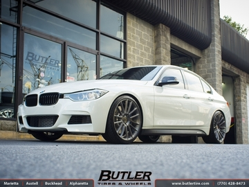 BMW 3 Series with 20in Savini BM9 Wheels