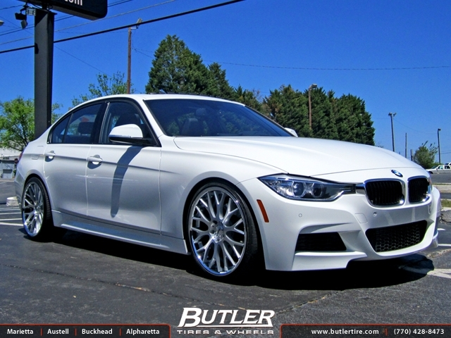 BMW 3 Series with 20in TSW Amaroo Wheels