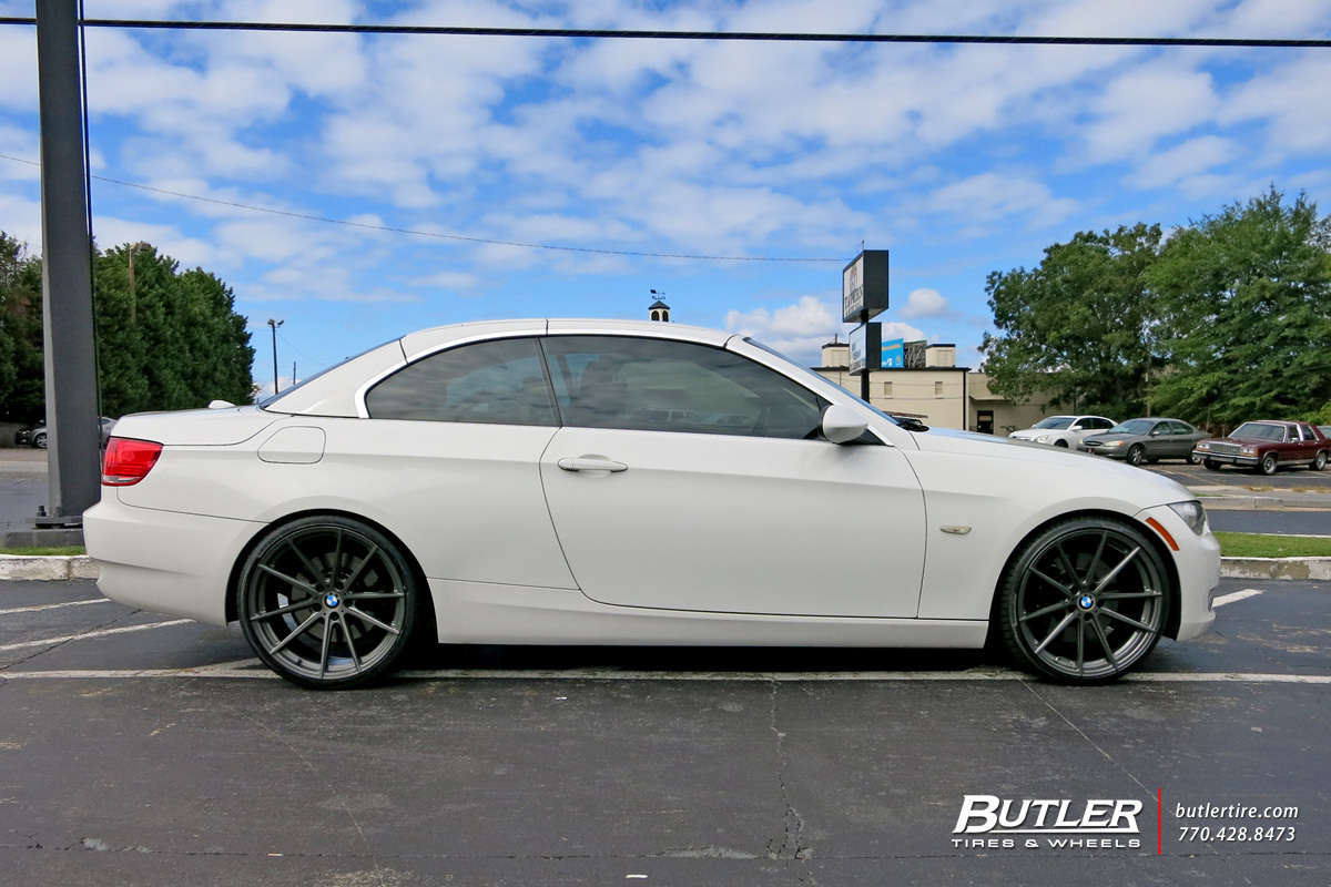 Bmw 3 Series With 20in Tsw Bathurst Wheels Exclusively