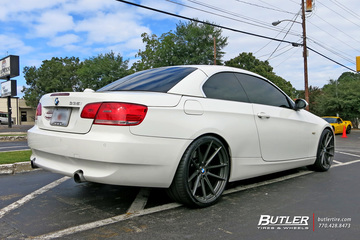 BMW 3 Series with 20in TSW Bathurst Wheels