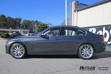 BMW 3 Series with 20in TSW Monaco Wheels
